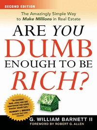 Cover Are You Dumb Enough to Be Rich?
