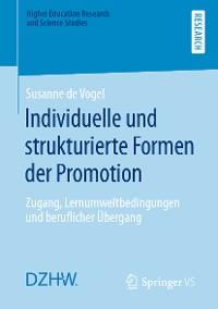 Cover Individuelle und strukturierte Formen der Promotion