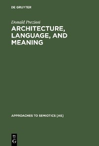 Cover Architecture, Language, and Meaning