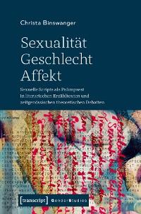 Cover Sexualität - Geschlecht - Affekt