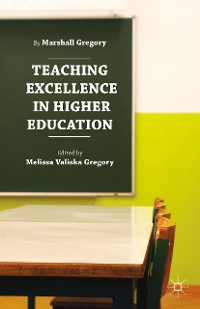 Cover Teaching Excellence in Higher Education