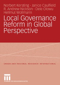 Cover Local Governance Reform in Global Perspective
