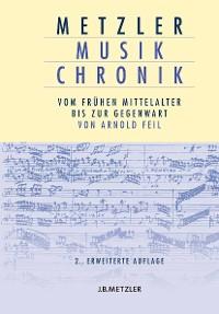 Cover Metzler Musik Chronik