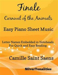 Cover Finale Carnival of the Animals Easy Piano Sheet Music