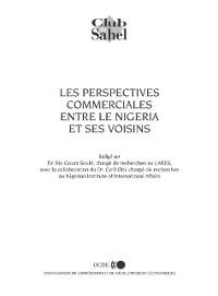 Cover Les perspectives commerciales entre le Nigeria et ses voisins