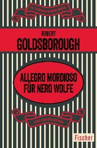 Cover Allegro mordioso für Nero Wolfe