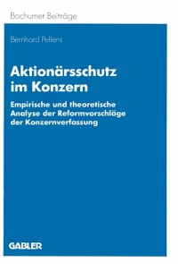 Cover Aktionarsschutz im Konzern