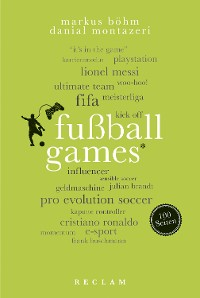 Cover Fußballgames. 100 Seiten