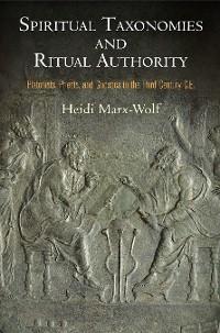 Cover Spiritual Taxonomies and Ritual Authority