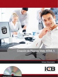 Cover CREACIÓN DE PÁGINAS WEB
