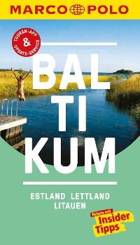 Cover MARCO POLO Reiseführer Baltikum, Estland, Lettland, Litauen