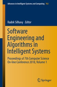 Cover Software Engineering and Algorithms in Intelligent Systems