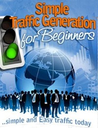Cover Simple Traffic Generation for Beginners - Simple and Easy Traffic Today