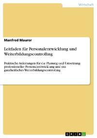 Cover Leitfaden für Personalentwicklung und Weiterbildungscontrolling