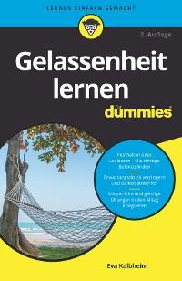 Cover Gelassenheit lernen für Dummies