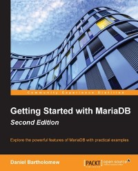Cover Getting Started with MariaDB - Second Edition