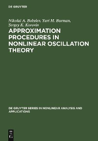 Cover Approximation Procedures in Nonlinear Oscillation Theory