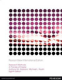 Cover Research Methods: Pearson New International Edition