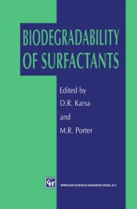 Cover Biodegradability of Surfactants