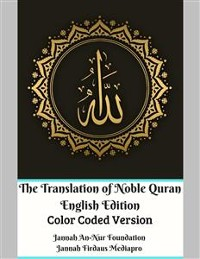 Cover The Translation of Noble Quran English Edition Color Coded Version