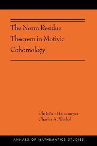 Cover The Norm Residue Theorem in Motivic Cohomology