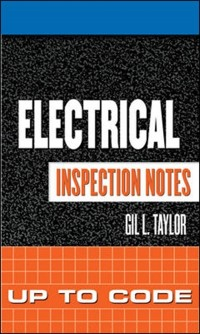 Cover Electrical Inspection Notes: Up to Code