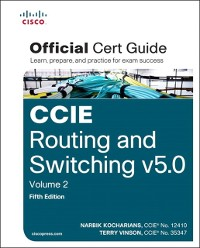 Cover CCIE Routing and Switching v5.0 Official Cert Guide, Volume 2