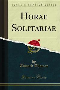 Cover Horae Solitariae