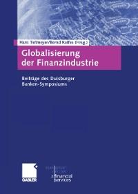Cover Globalisierung der Finanzindustrie
