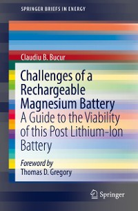 Cover Challenges of a Rechargeable Magnesium Battery