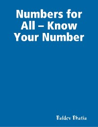 Cover Numbers for All – Know Your Number