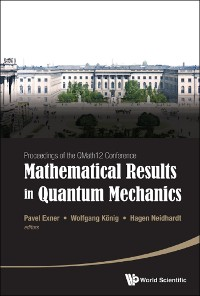 Cover Mathematical Results In Quantum Mechanics - Proceedings Of The Qmath12 Conference (With Dvd-rom)