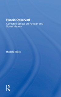 Cover Russia Observed