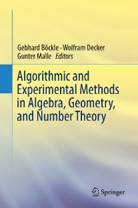 Cover Algorithmic and Experimental Methods  in Algebra, Geometry, and Number Theory