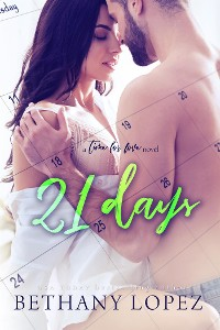 Cover 21 Days (Time for Love, book 2)