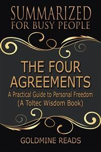 Cover The Four Agreements - Summarized for Busy People