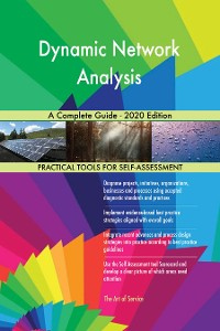 Cover Dynamic Network Analysis A Complete Guide - 2020 Edition