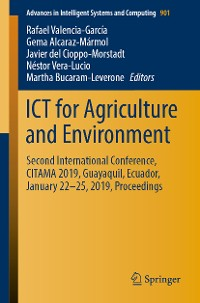 Cover ICT for Agriculture and Environment