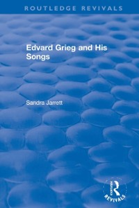 Cover Edvard Grieg and His Songs