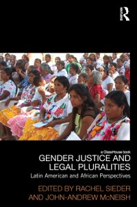 Cover Gender Justice and Legal Pluralities