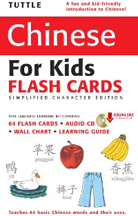 Cover Tuttle Chinese for Kids Flash Cards Kit Vol 1 Simplified Cha