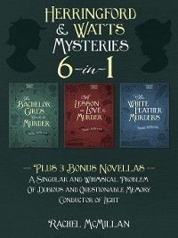 Cover The Herringford and Watts Mysteries 6-in-1
