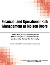 Cover Financial and Operational Risk Management at Molson Coors