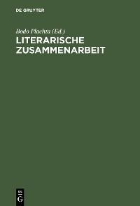 Cover Literarische Zusammenarbeit