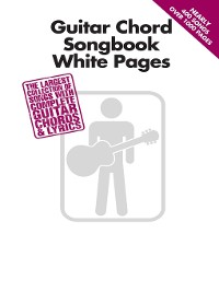 Cover Guitar Chord Songbook White Pages
