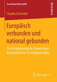 Cover Europäisch verbunden und national gebunden