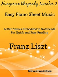 Cover Hungarian Rhapsody Number 2 Easy Piano Sheet Music