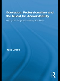 Cover Education, Professionalism, and the Quest for Accountability