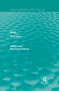 Cover Iran (Routledge Revival)