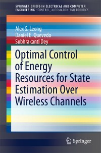 Cover Optimal Control of Energy Resources for State Estimation Over Wireless Channels